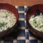 塩昆布で炊いた七草粥