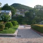 横浜元町公園とそっくりな函館元町公園